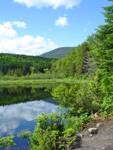 Kian Pond in Sandwich, NH.