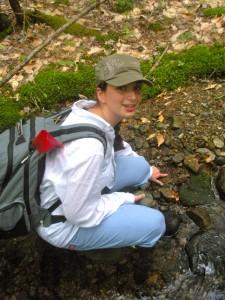 REU Student Kaitlin Friedman